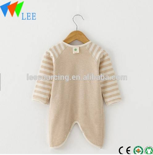 wholesale hot sale baby romper organic cotton long-sleeved comfortable infant rompers wholesale baby clothes