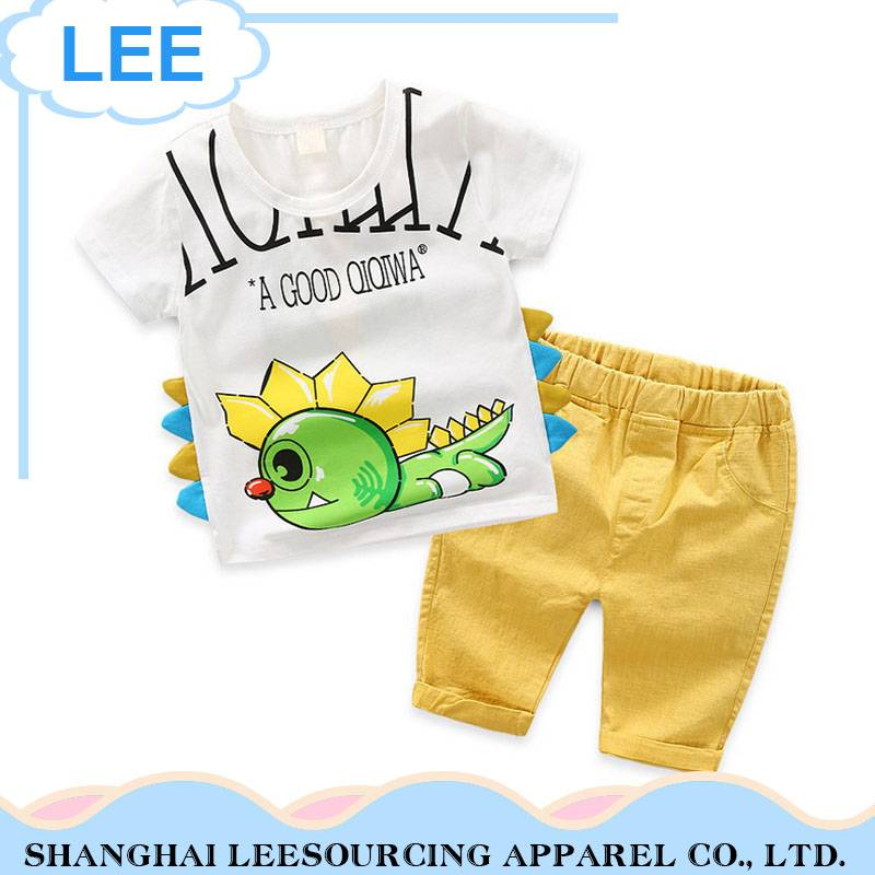 2018 Summer New Cotton Kids Clothes Children Clothing Sets
