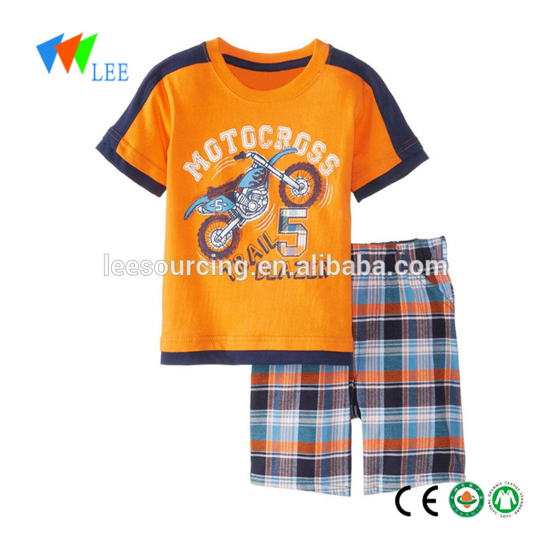 baby boy casual casual clothing sets tops and shorts set