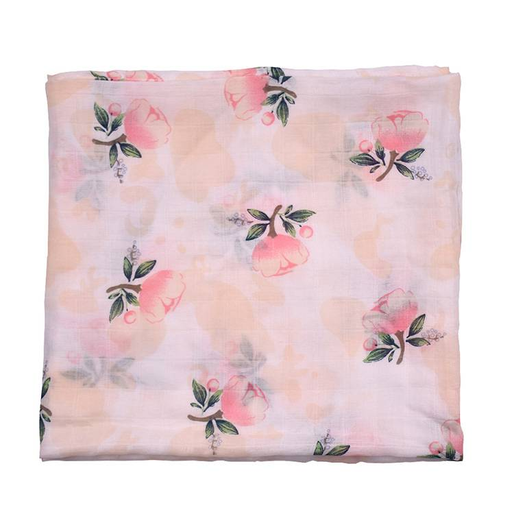 new design and fashionable style wholesale high quality soft baby bamboo fiber blanket