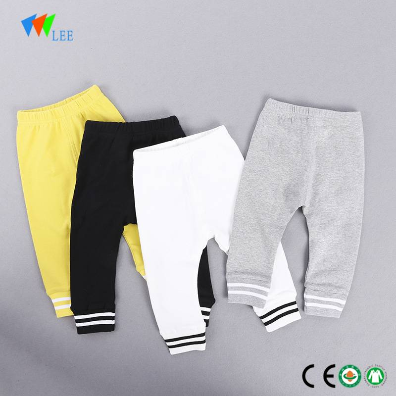 Hot sale new fashion winter kids leggings organic cotton wholesale girls leggings