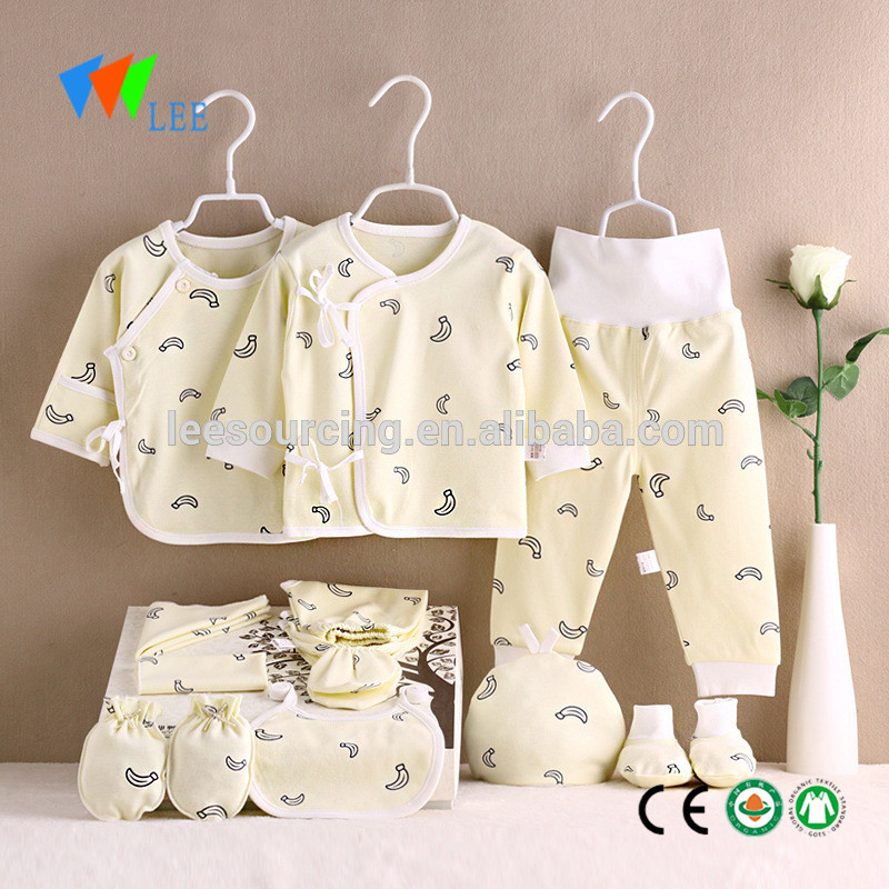 Wholesale summer baby clothes romper set cotton babies clothings sets