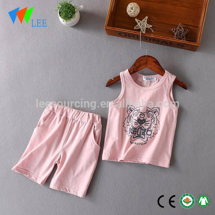 children boutique clothing baby boy top vest shorts set