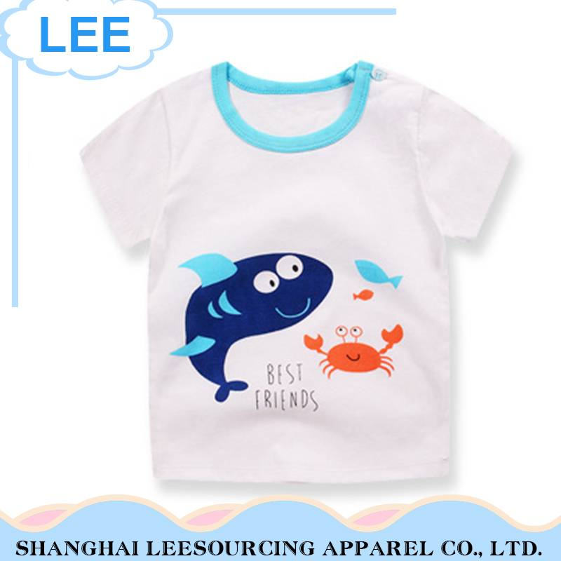 High Quality Customized Kids T Shirt Printing Children Tops