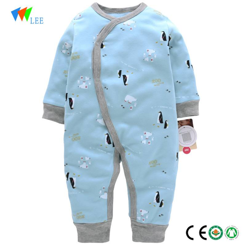 New fashions winter baby romper long-sleeved cotton kids romper