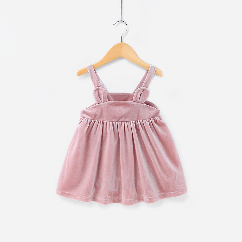 Latest Design Casual Outerwear Children Sleeveless Dress