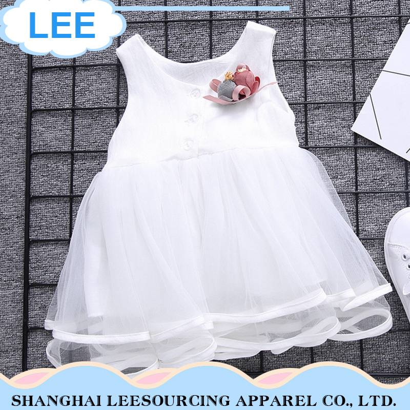 high quality fairy child kids baby girls dresses