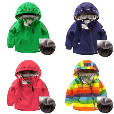 Winter children's clothing coat children's cotton clothing baby thick cotton jacket coat