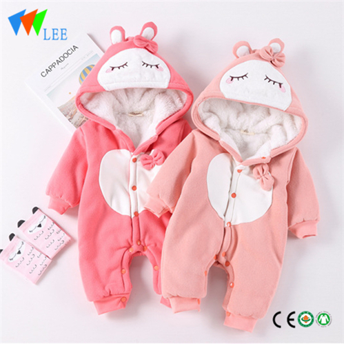 Cheap Wholesale Infant Clothing Baby Cute Winter Cotton Baby Rompers
