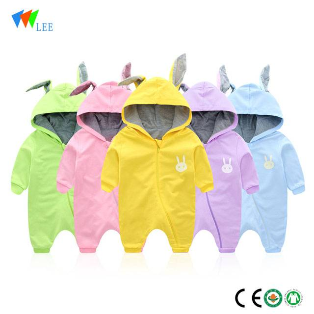 0-1T newborn baby short sleeve body suit clothes romper