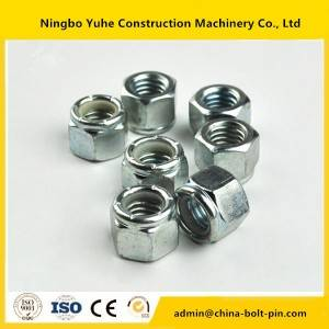 Excavator Track Bolts Hitachi / Komatsu / Kobelco / Daewoo / Hyundai / Sumitomo Various sizes high quality  nuts