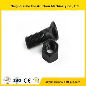 china good quality  Bolt and nut for excavator