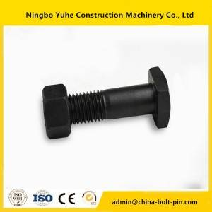 Reliable Supplier Carriage bolt DIN603 black oxide grade 8.8