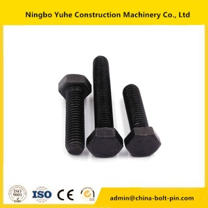 bolt china manufacturer 12.9 grade for  track bolt,excavator bolt and nut