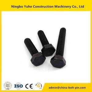 china bolt manufacture 12.9 grade track bolt & Nuts for excavator