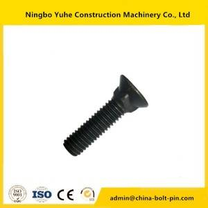 Plow Bolt  and nut for excavator 7h3609/9s2727