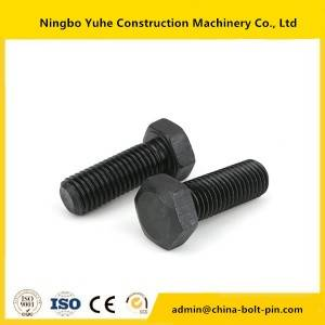 china supplier Hexagonal Excavator Bolt and Nut 1D-4642 hexagonal bolt  with Hot Forged
