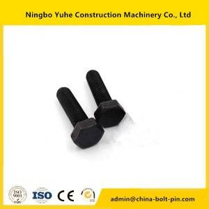 1D-4709 hex bolt ,OEM excavator bolt and nut