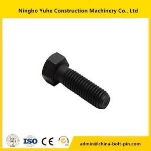 8H-5772 hex bolt ,china supplier excavator bolt and nut