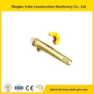 Factory best selling Excavator Teeth Pin And Retainer Trapezoidal V Ditch Bucket