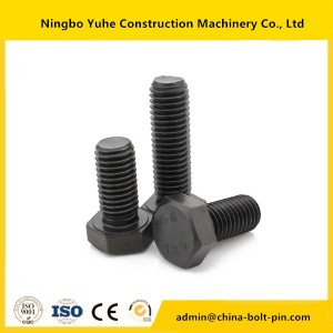 Top Quality Nut M0.6-m20 Copper-plated Carbon Steel Hex Bolts And Nuts