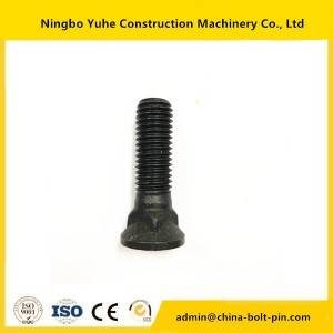 3F5108 Plow Bolt  and nut for excavator