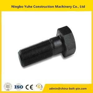 Excellent quality china shantui bulldozer parts pc200 track shoe bolt and nut bolts& nuts for sale