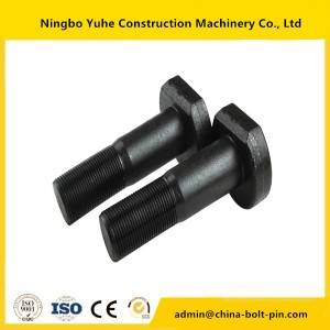 Bolts Nuts Segment Bolt,for excavator bolt and nut