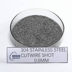 stainless steel cut wire shot 0.6MM