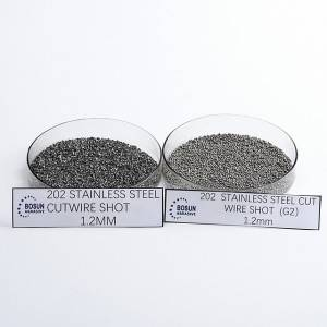 Stainless Steel Cut Wire Shot 1.2mm As cut