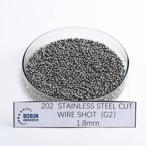 Stainless Steel Cut Wire Shot 1.8mm G2