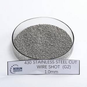 stainless steel cut wire shot 1mm G2