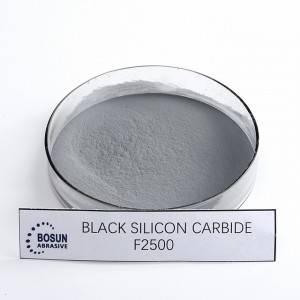 Black Silicon Carbide F2500