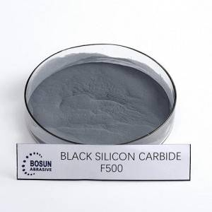 Black Silicon Carbide F500