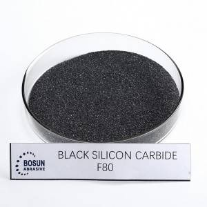 Black Silicon Carbide F80