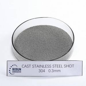 Cast Stainless Steel Shot 0.3mm