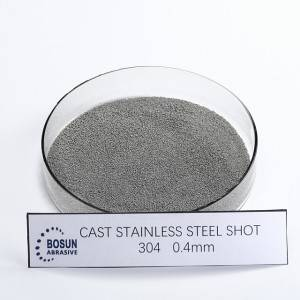 Cast Stainless Steel Shot 0.4mm