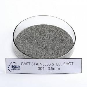 Cast Stainless Steel Shot 0.5mm