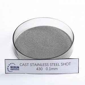 Cast Stainless Steel Shot 0.1mm