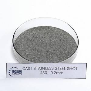 Cast Stainless Steel Shot 0.2mm