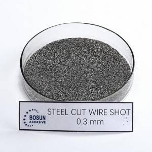 Steel Cut Wire Shot 0.3mm