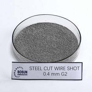 Steel Cut Wire Shot 0.4mm G2