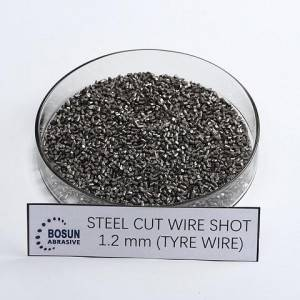 Steel Cut Wire Shot 1.2mm tyre wire