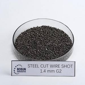 Steel Cut Wire Shot 1.4mm G2