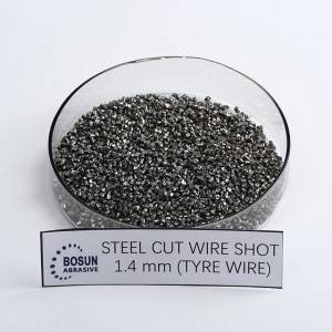 Steel Cut Wire Shot 1.4mm tyre wire