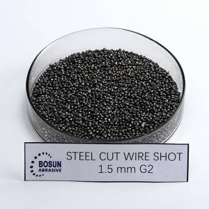 Steel Cut Wire Shot 1.5mm G2