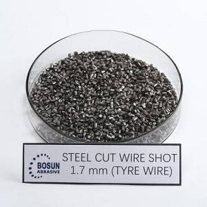 Steel Cut Wire Shot 1.7mm tyre wire