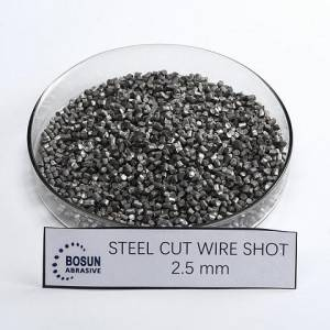 Steel Cut Wire Shot 2.5mm