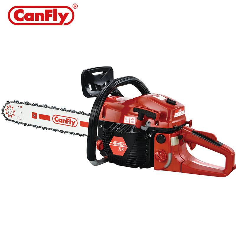 Canfly x5 Chain Saw berkualiti 5800 58cc Petrol Chainsaw Tree Cutting Machine
