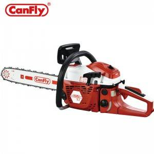 Canfly x2 Chain Saw 58CC Gas Power Engine Cutting Saw Wood Chainsaw